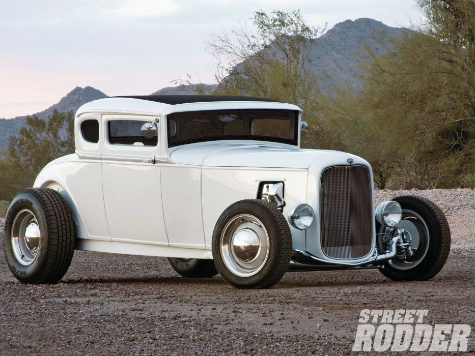 1930 Ford Five Window Coupe Hotrod Hot Rod Custom USA 1600x1200 -16 wallpaper