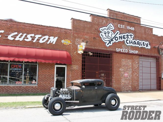 1930 Ford Five Window Coupe Hotrod Hot Rod Custom USA 1600x1200 -33 wallpaper