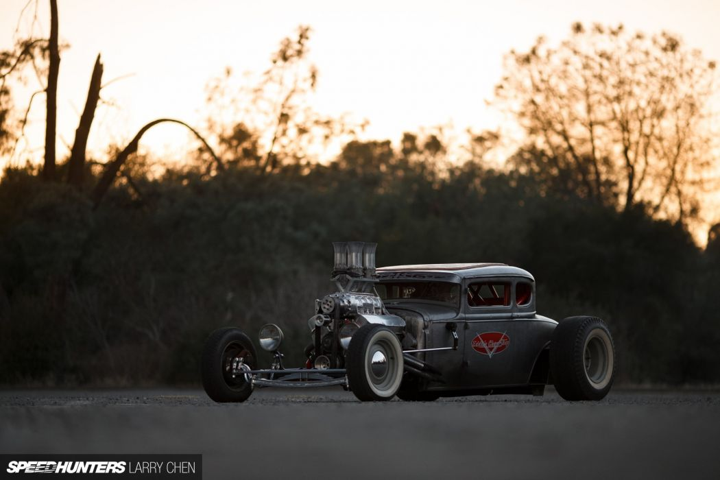 1930 Ford Five Window Coupe Hotrod Hot Rod Custom USA 1920x1280 -02 wallpaper