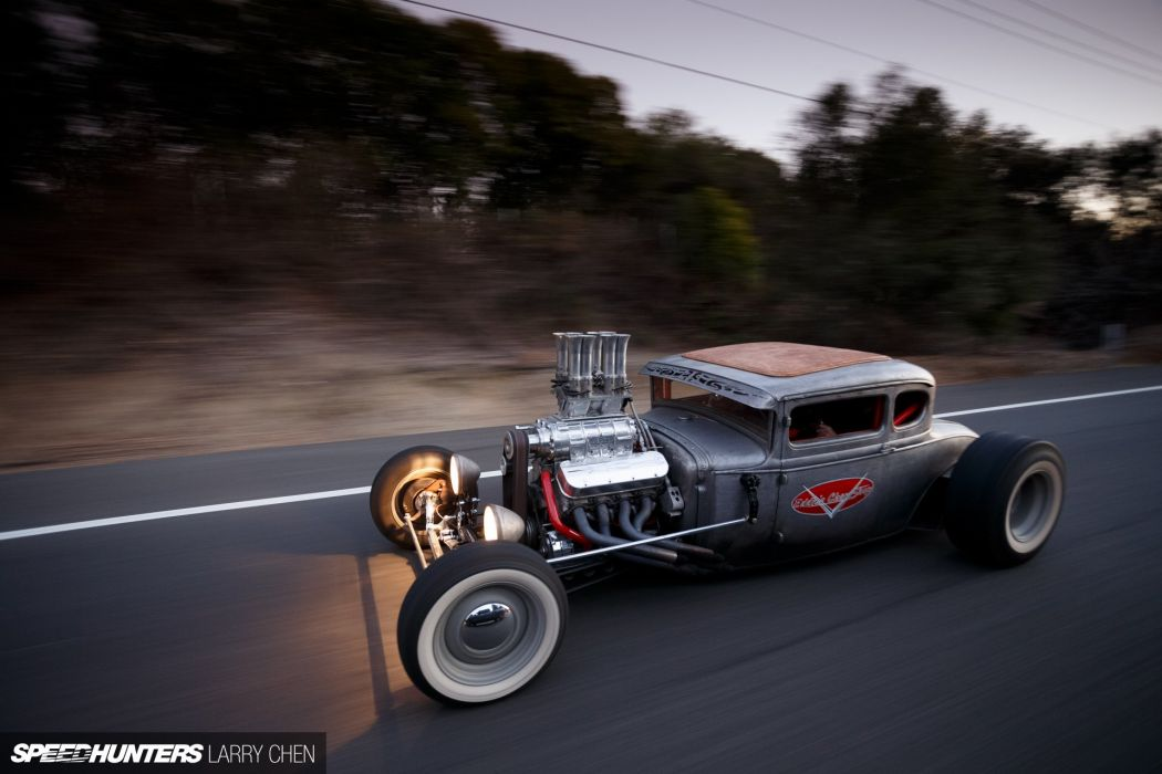 1930 Ford Five Window Coupe Hotrod Hot Rod Custom USA 1920x1280 -04 wallpaper