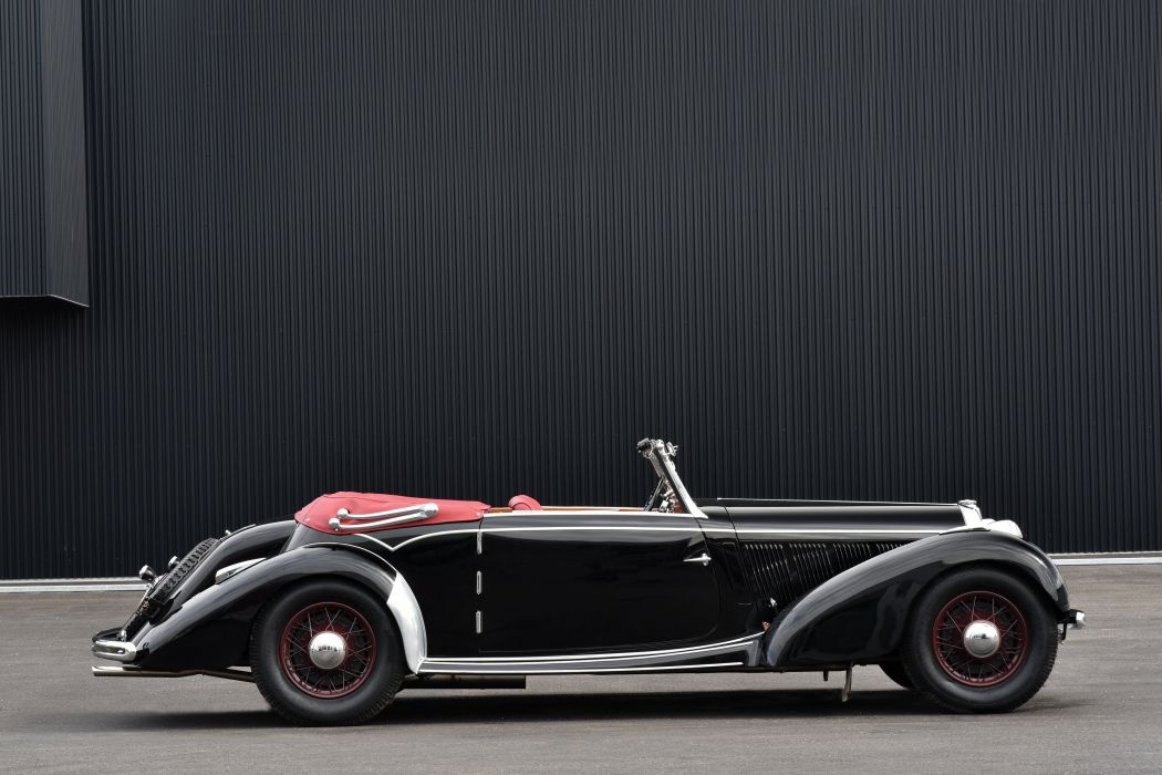 1938 Talbot Lago T23 Mayor Cabriolet retro vintage luxury wallpaper