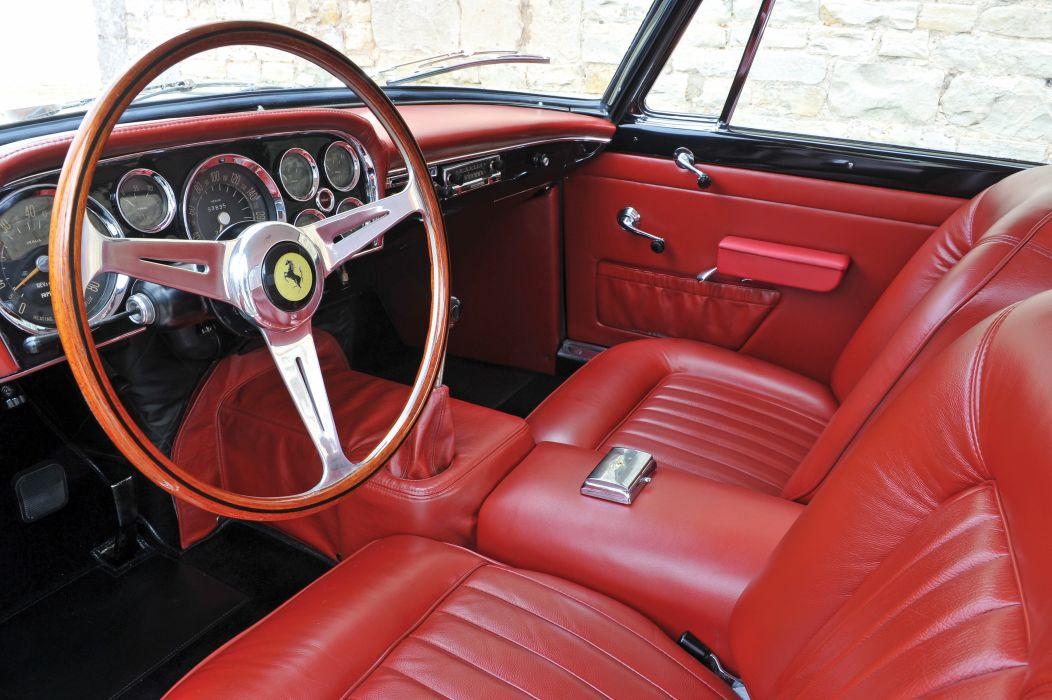 1960 Ferrari 250 G-T Coupe classic supercar wallpaper