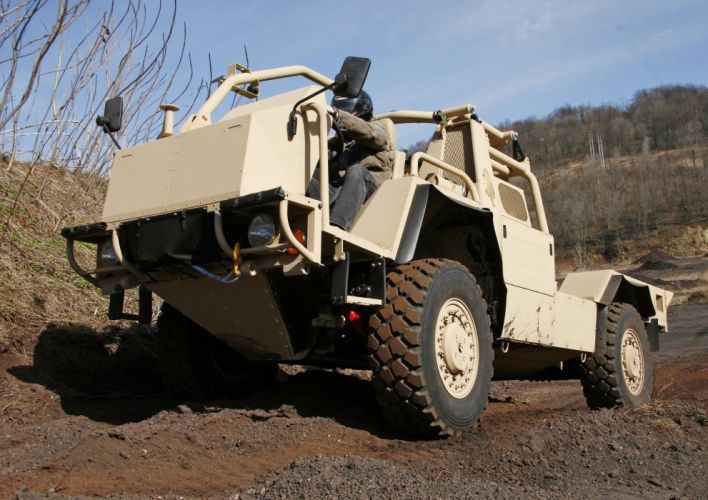 2010 Lockheed Martin CVNG military 4x4 offroad wallpaper