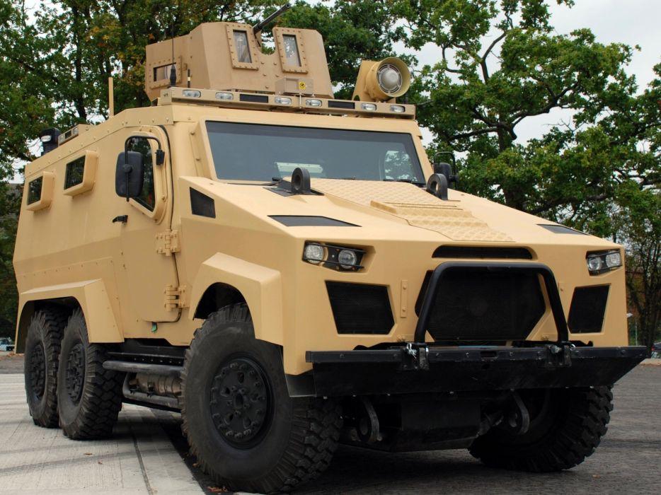 2010 Zephyr SRV ZX3 APC armored military police 6x6 wallpaper