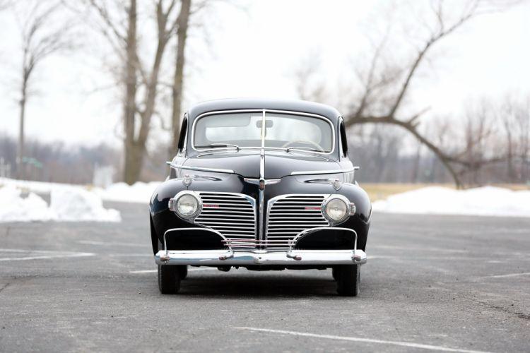 1941 Dodge Series D19 Luxury Liner Deluxe Business Coupe retro wallpaper