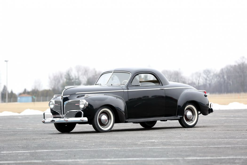 1941 Dodge Series D19 Luxury Liner Deluxe Business Coupe retro wallpaper