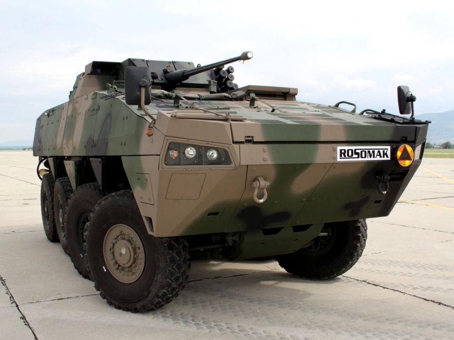 WZM Rosomak 8x8 AMV armored apc military wallpaper