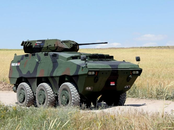2006 FNSS Pars 6x6 apc armored military offroad wallpaper