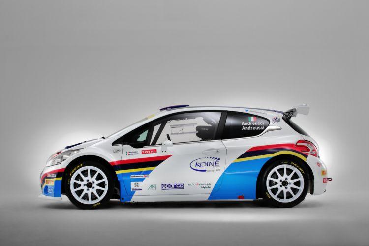 2013 Peugeot 208 T16 rally r-5 race racing wallpaper