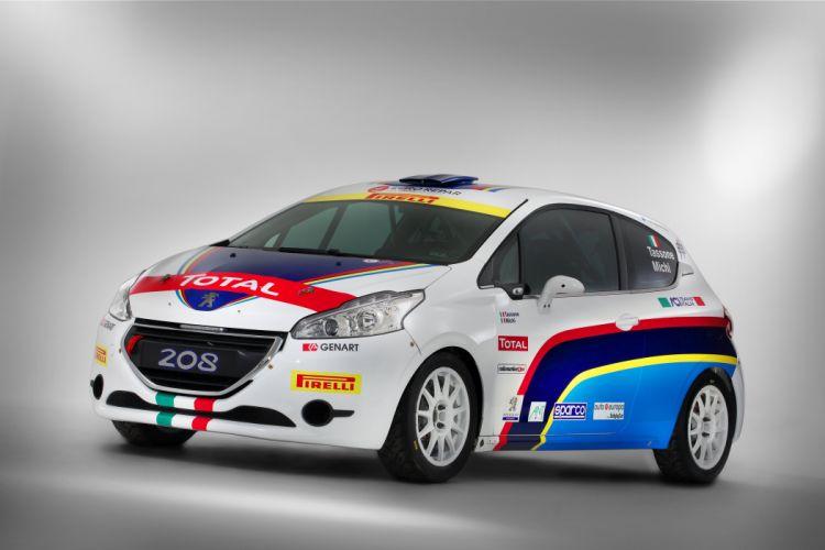 2014 Peugeot 208 R2 rally race racing r-2 wallpaper