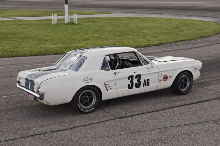 1966 Shelby Ford Mustang SCCA Group-2 American Sedan race racing muscle classic wallpaper