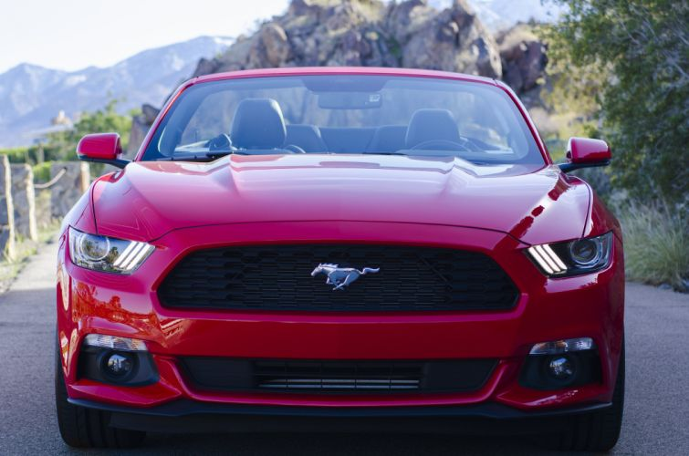 2015 Ford Mustang Convertible muscle wallpaper