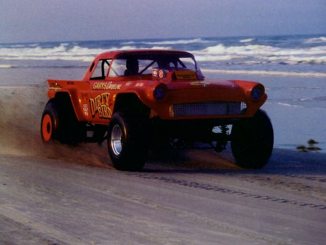 1957 Ford Thunderbird retro muscle luxury hot rod rods race racing drag 4x4 wallpaper