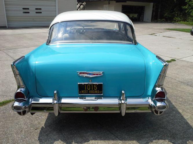 1957 Chevrolet 210 Sedan retro wallpaper