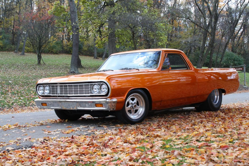 1964 Chevrolet El Camino 350ci 450hp pickup muscle hot rod rods classic wallpaper