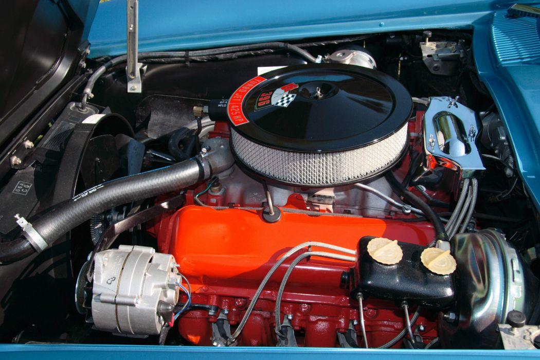 1965 Chevrolet Corvette 396ci 425hp muscle supercar classic wallpaper