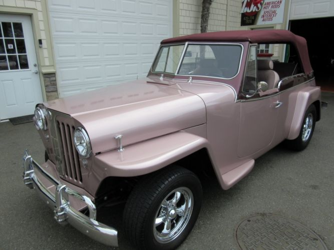 1948 Willys Jeepster 4x4 jeep retro custom tuning hot rod rods wallpaper