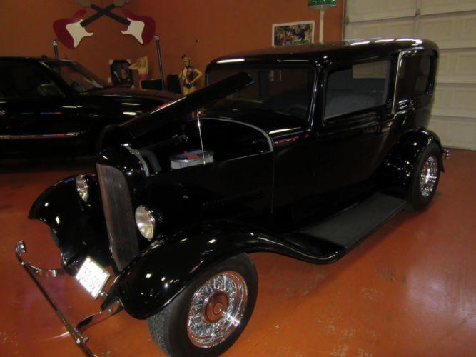 1932 Ford 2Door Sedan 350ci retro vintage hot rod rods wallpaper