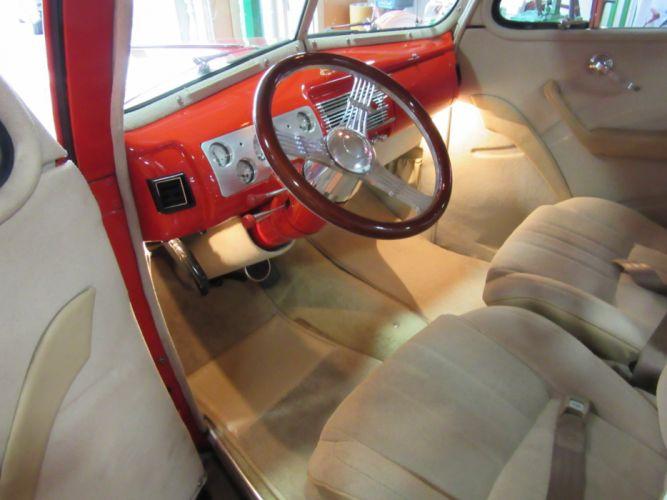 1940 Ford Deluxe Coupe 327ci hot rod rods retro custom wallpaper