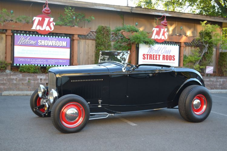 1932 Ford Roadster hot rod rods retro vintage wallpaper