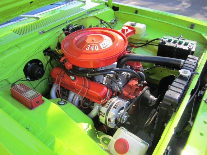 1971 Dodge Dart 340ci muscle classic wallpaper