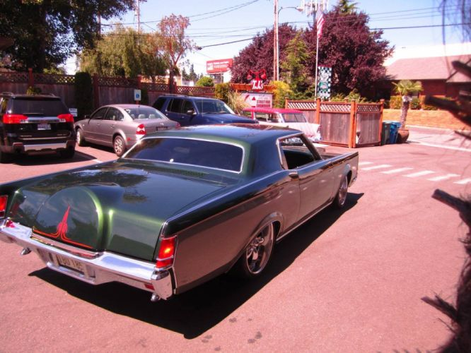 1971 Lincoln Continental MarkIII 460ci custom tuning lowrider luxury wallpaper