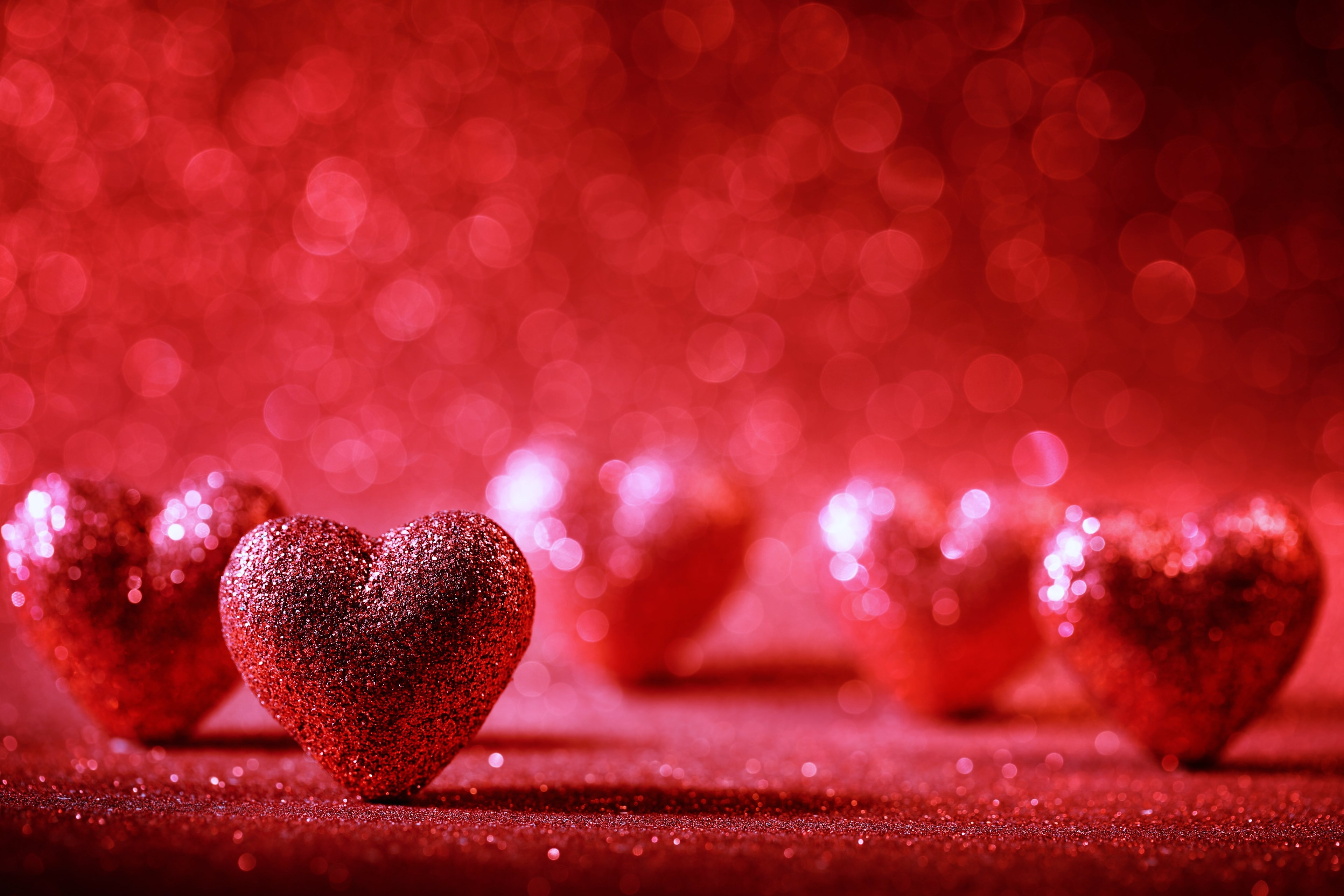Emotional Love Wallpaper In Hd : Hearts red love romance emotions backgroung wallpapers beauty Decoration wallpaper 3840x2560 ...