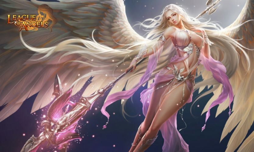 LEAGUE Of ANGELS loa fantasy mmo rpg online 1loa fighting action angel warrior wallpaper