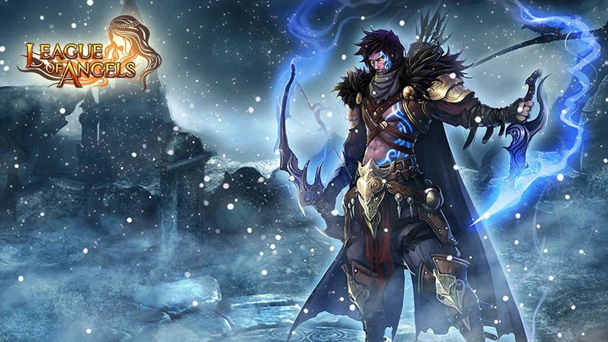 LEAGUE Of ANGELS Loa Fantasy Mmo Rpg Online 1loa Fighting Action Angel Warrior Magic Wallpaper