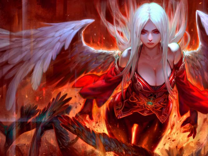 LEAGUE Of ANGELS loa fantasy mmo rpg online 1loa fighting action angel warrior demon wallpaper
