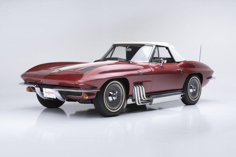 1963 Chevrolet Corvette Sting Ray Convertible C-2 muscle supercar classic stingray wallpaper