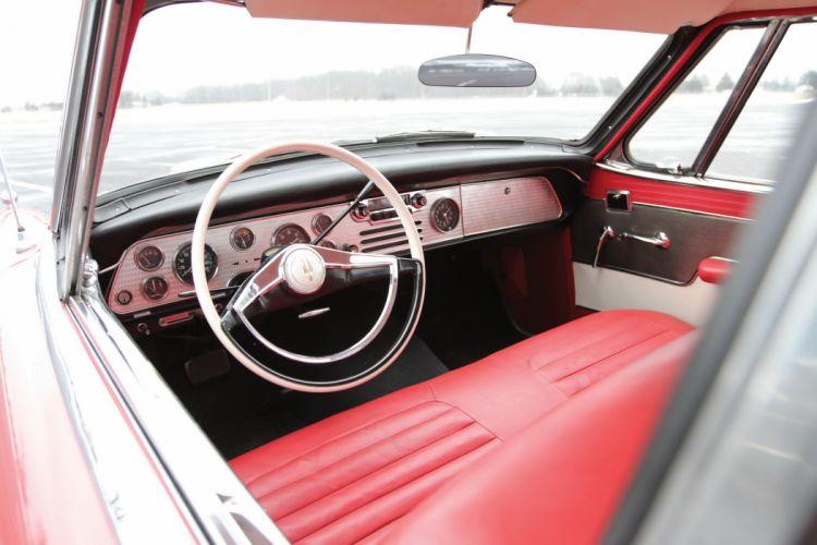 1957 Studebaker Golden Hawk luxury retro wallpaper