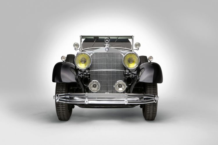 1931 Mercedes Benz 770 Cabriolet D W07 luxury retro vintage wallpaper