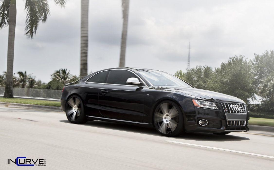 incurve wheels audi s 5 tuning cars wallpaper