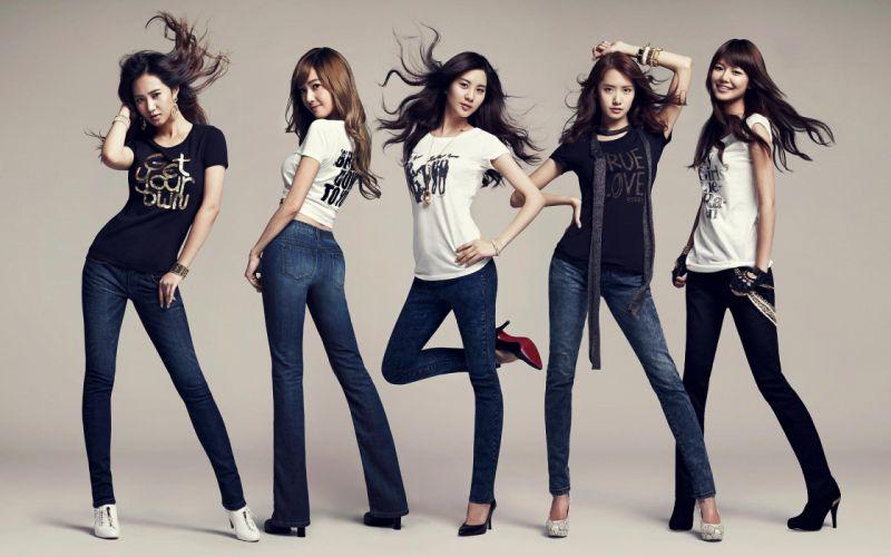WOMEN CLUB - sensuality asian girls generation wallpaper