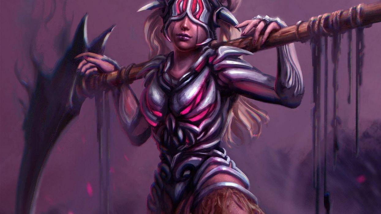 WOMEN WARRIOS - art fantasy girl wallpaper
