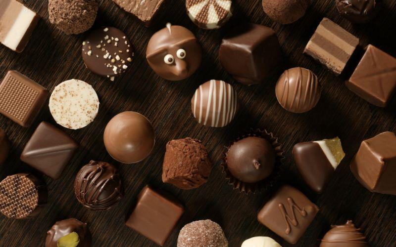 cja bombones chocolate dulce postres wallpaper