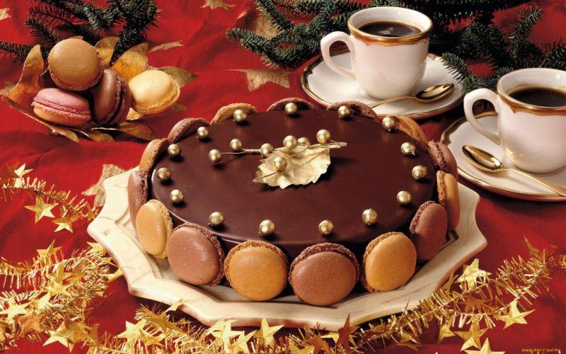 pastel chocolate dulces postres comidas wallpaper