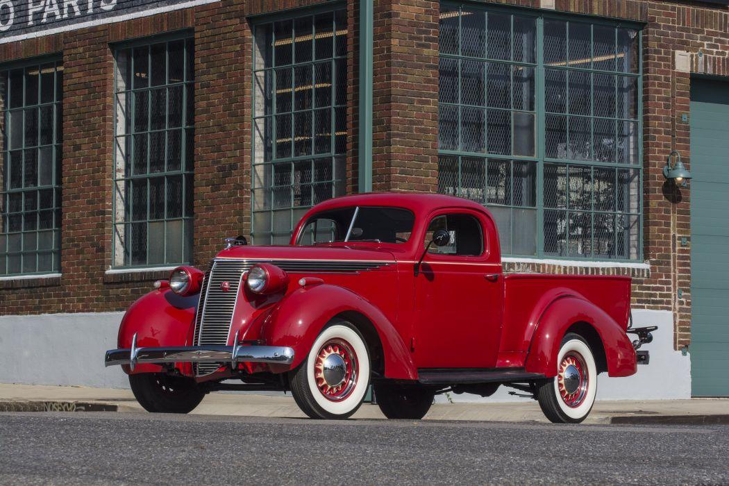 1937 Studebaker J5 Express Coupe Pickup Classic USA d 6000x4000-01 wallpaper
