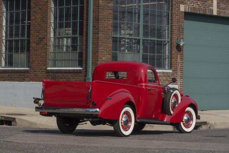 1937 Studebaker J5 Express Coupe Pickup Classic USA d 6000x4000-04 wallpaper