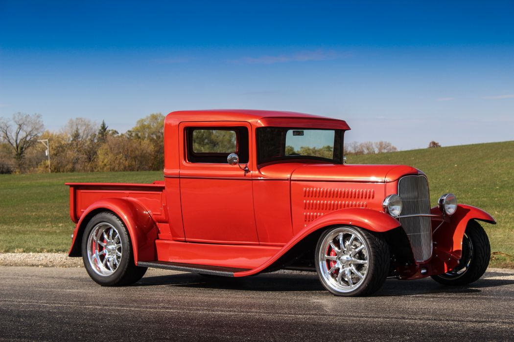 1930 Ford ModelA Pickup Hotrod Hot Rof d 5184x3456-01 wallpaper