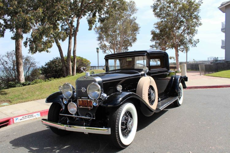 1931 Cadillac V-12 Rumble Seat Coupe CLassic USA d 5184x3456-01 wallpaper