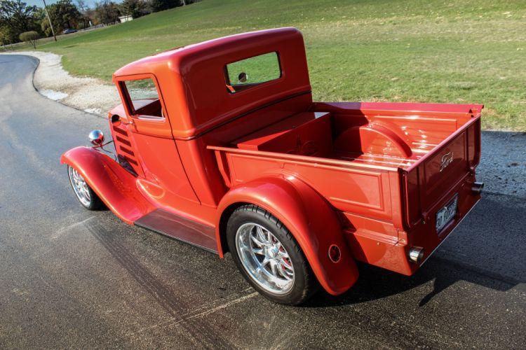 1930 Ford ModelA Pickup Hotrod Hot Rof d 5184x3456-02 wallpaper