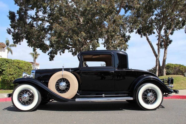 1931 Cadillac V-12 Rumble Seat Coupe CLassic USA d 5184x3456-02 wallpaper