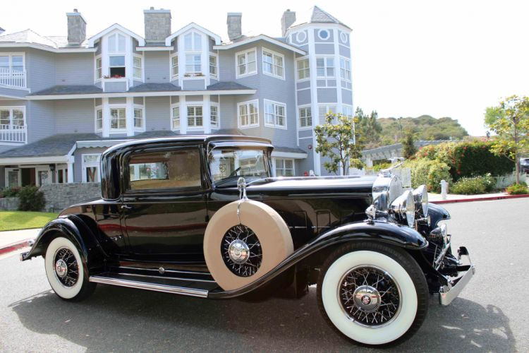 1931 Cadillac V-12 Rumble Seat Coupe CLassic USA d 5184x3456-07 wallpaper