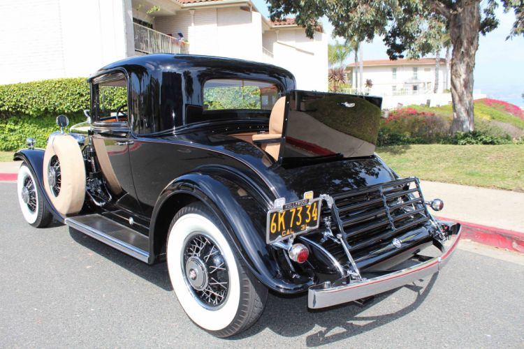 1931 Cadillac V-12 Rumble Seat Coupe CLassic USA d 5184x3456-09 wallpaper