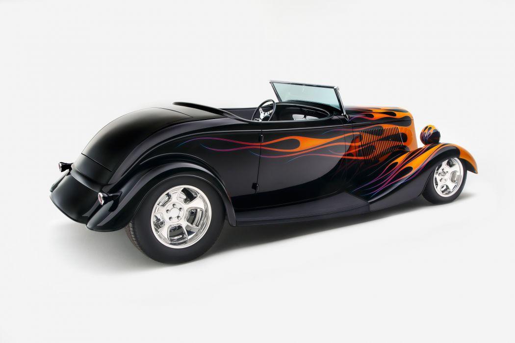 1933 Ford Roadster Hotrod Hot Rod Custom USA d 5760x3840-04 wallpaper