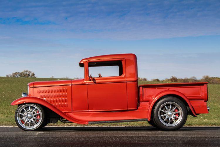 1930 Ford ModelA Pickup Hotrod Hot Rof d 5184x3456-05 wallpaper