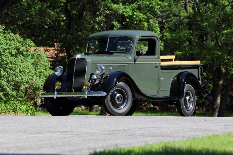 1937 Ford Pickup Classic USA d 5184x3456-01 wallpaper