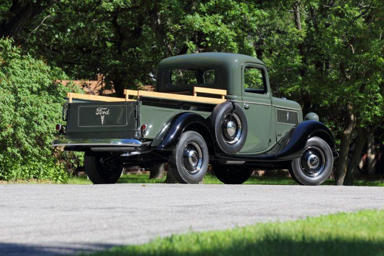 1937 Ford Pickup Classic USA d 5184x3456-02 wallpaper